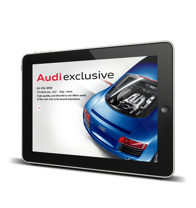 Audi Exclusive App