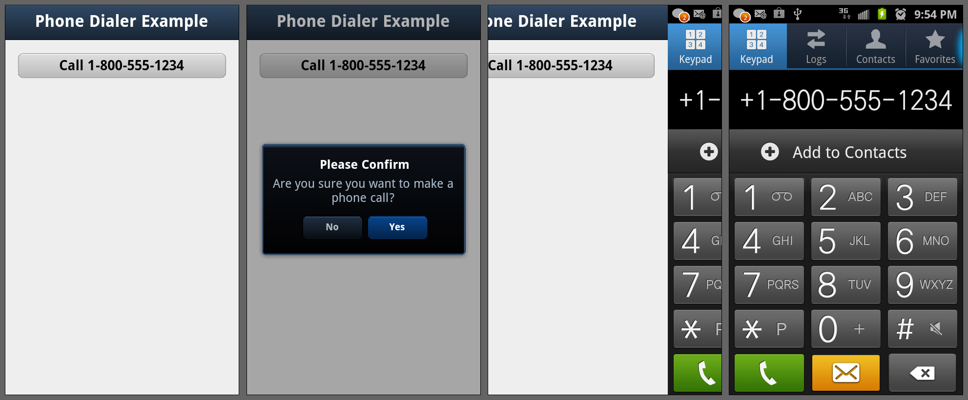 Making a Phone Call from Within PhoneGap in Android and iOS