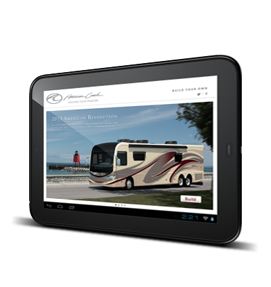 Fleetwood RV / American Coach Sales Apps