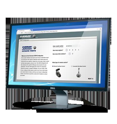 Evinrude ICON Configurator